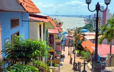 Explore the colourful lanes of Guayaquil.