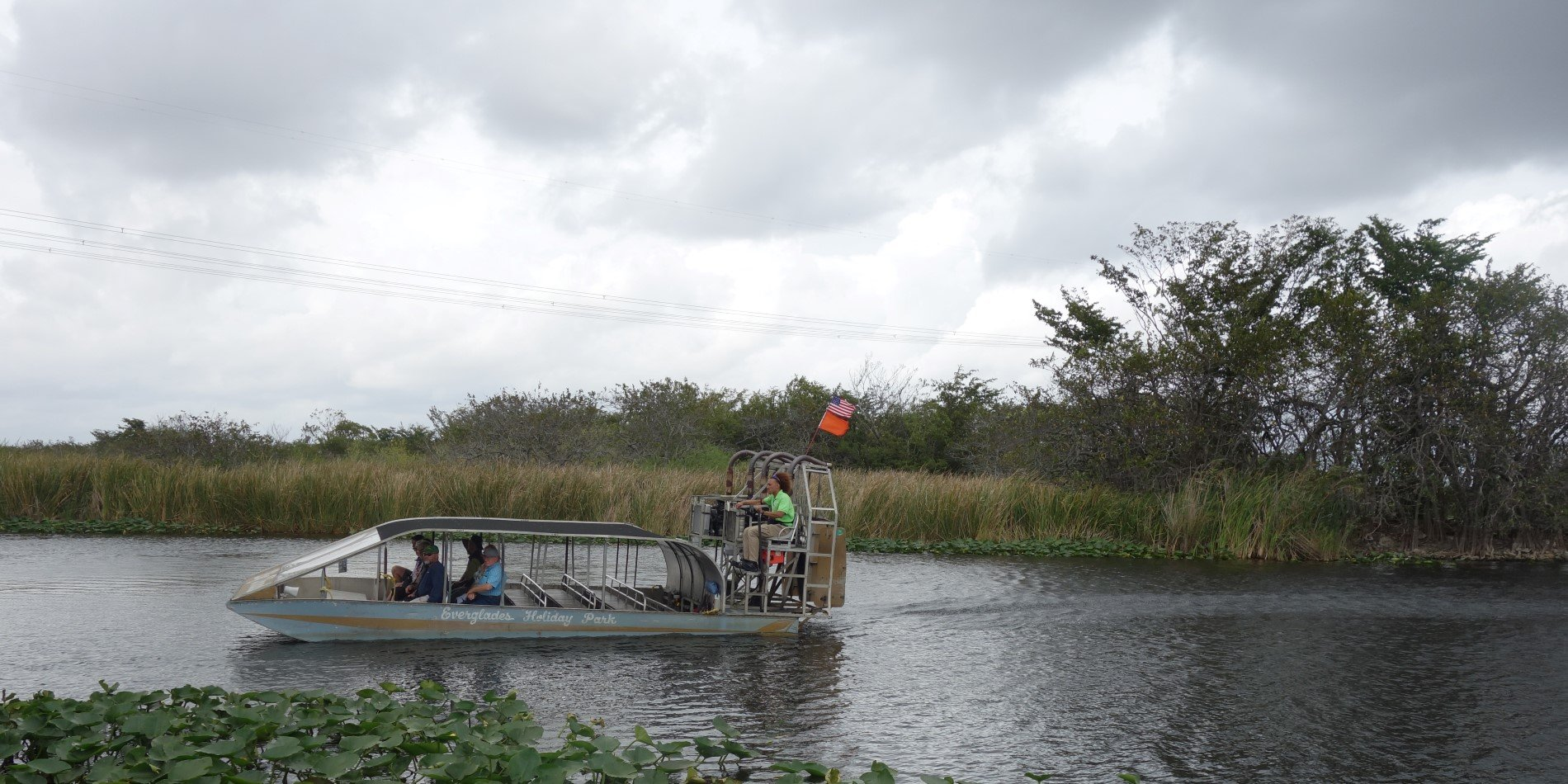 Everglades airboat.