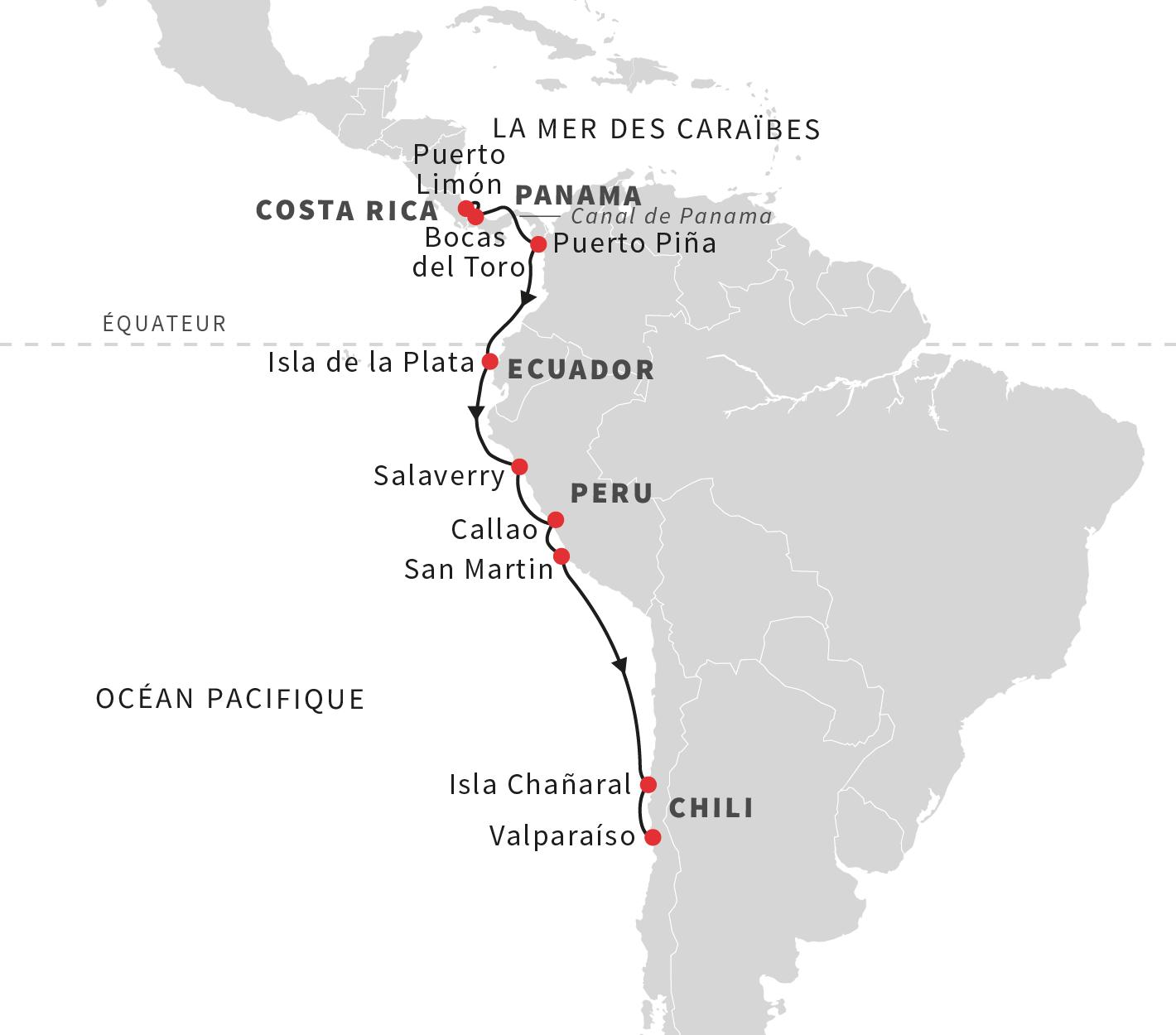 Datant Amérique du Sud