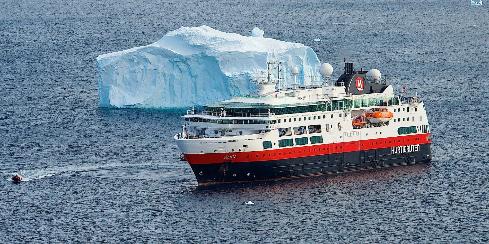 MS Fram en Antarctique