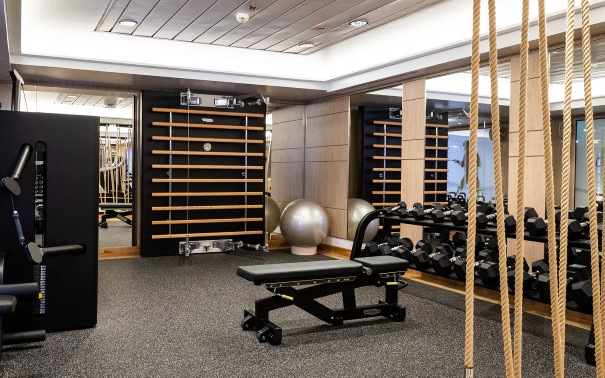 Gym on MS Roald Amundsen